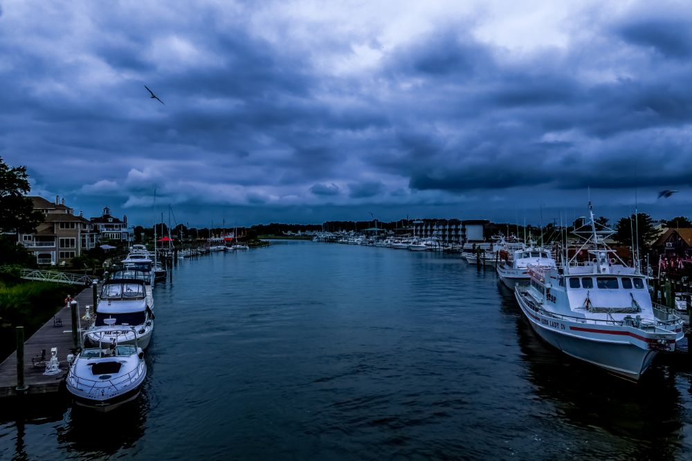 Photo in Landscape #overcast #landscape #boats #bay #water