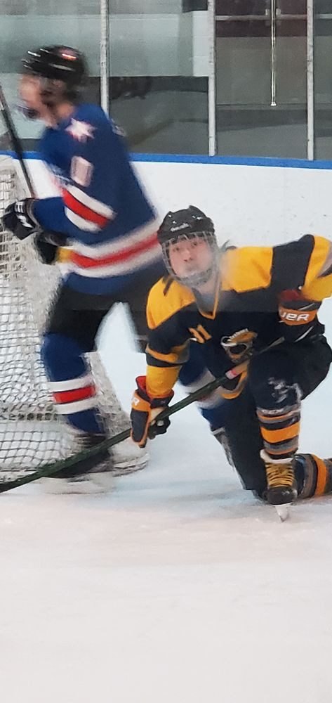 Photo in Sports #hockey #kids #son #fall #ice #game #cold #fun #sport #webster #junior