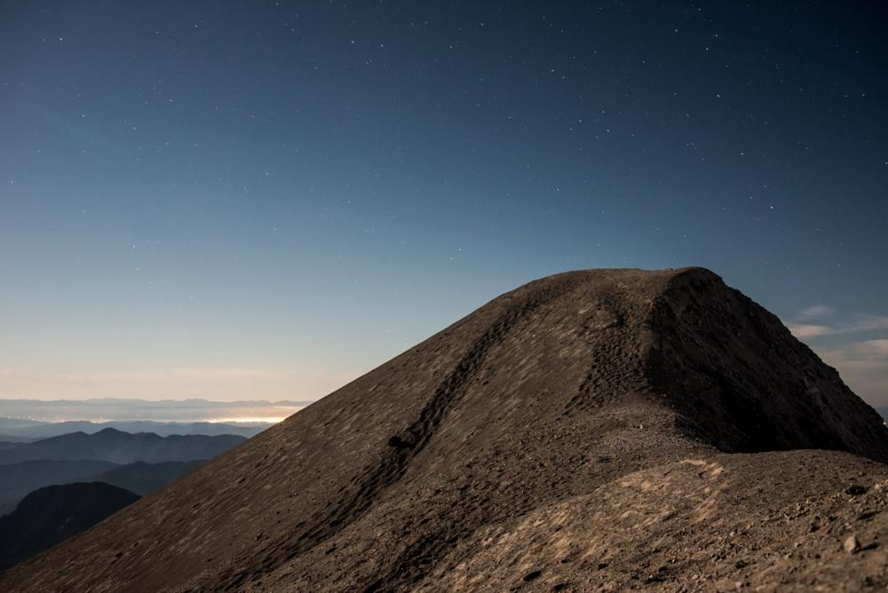 Photo in Landscape #mt. saint helens #night #summit