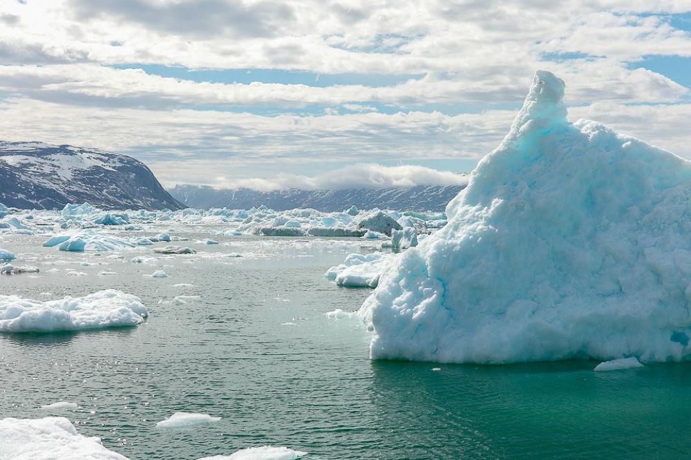 Photo in Landscape #ilulissat #greenland #iceberg #eqi #sea