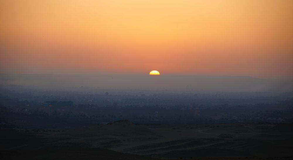 Photo in Landscape #egypt #cairo #pyramids #horse #@sahara