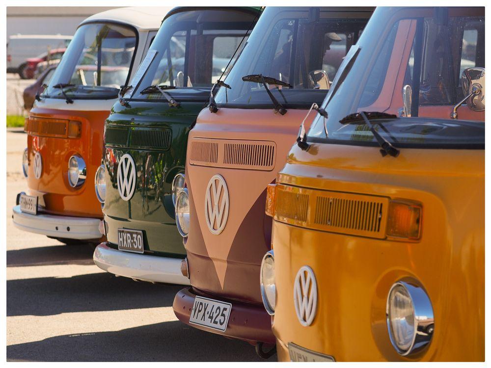 Photo in Vehicle #kleinbussi #volkkari #volkswagen #storenväri #kokkola #suomi #finland #olympus #mustakaapo