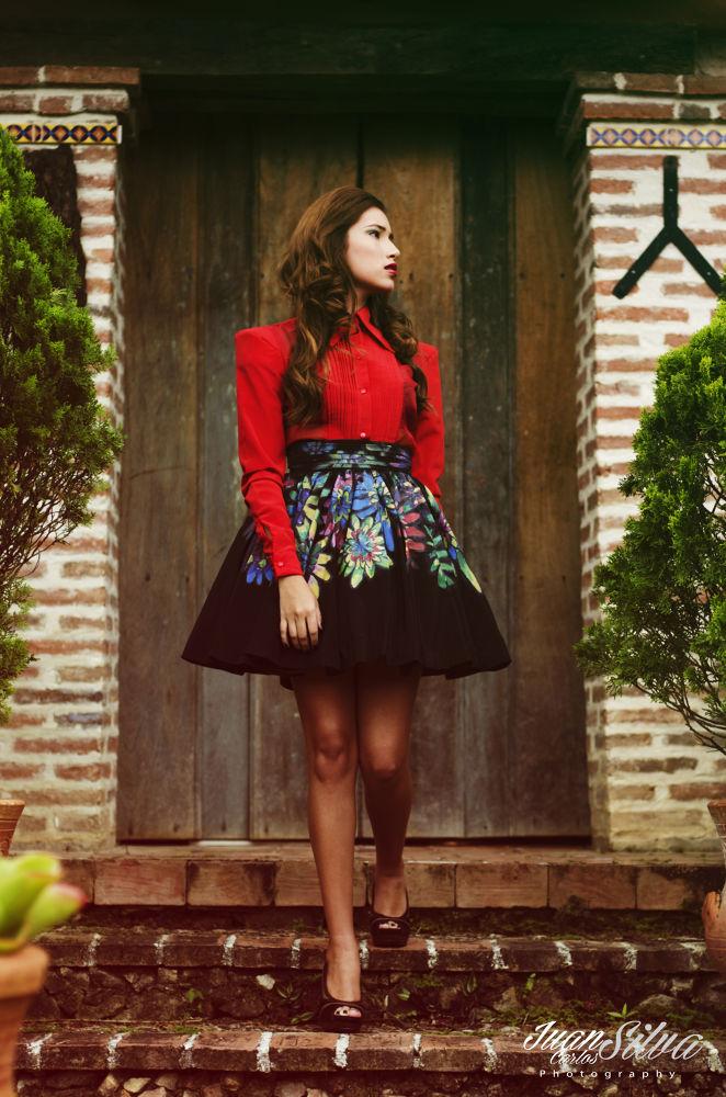 Photo in Fashion #colors #dress #fashion #green