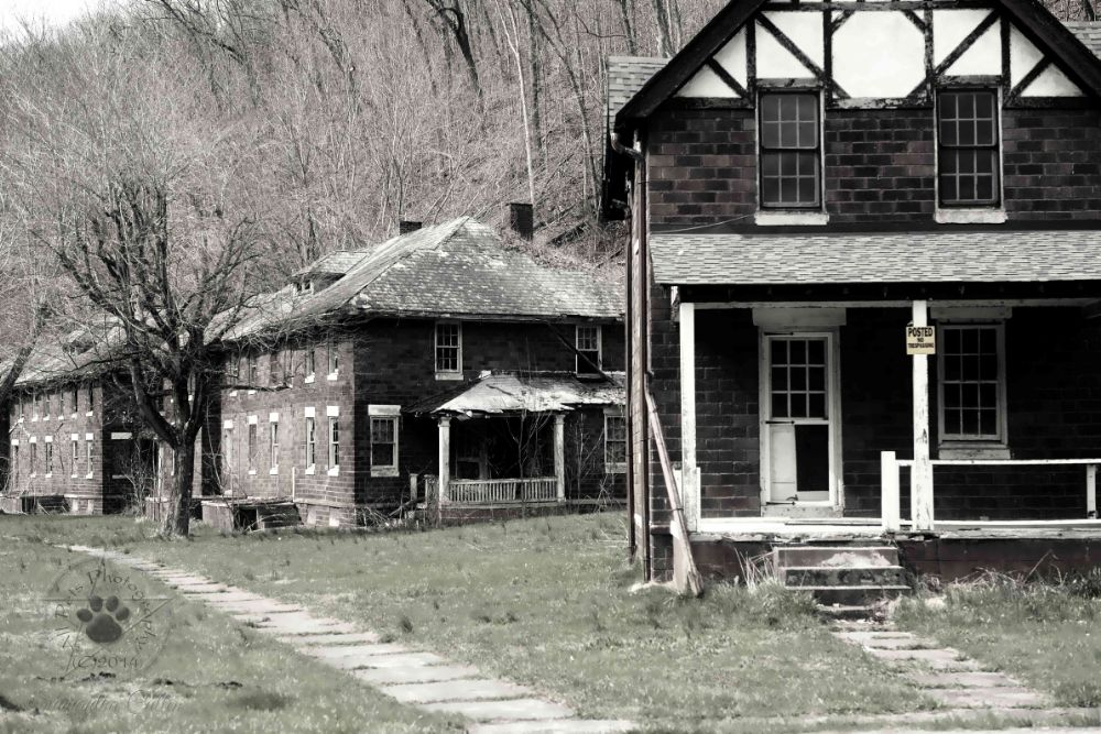 Photo in Black and White #usa #virginia #abandoned #america #architecture