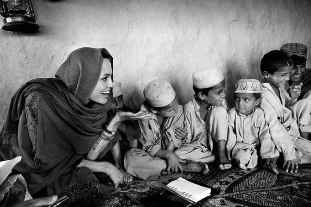 Photo in Random #in #angelina #jolie #afghanistan