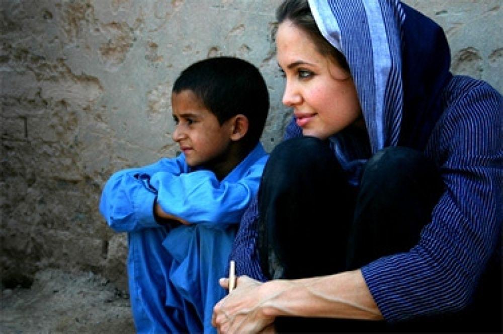 Photo in Random #in #angelina #jolie #afghanistan