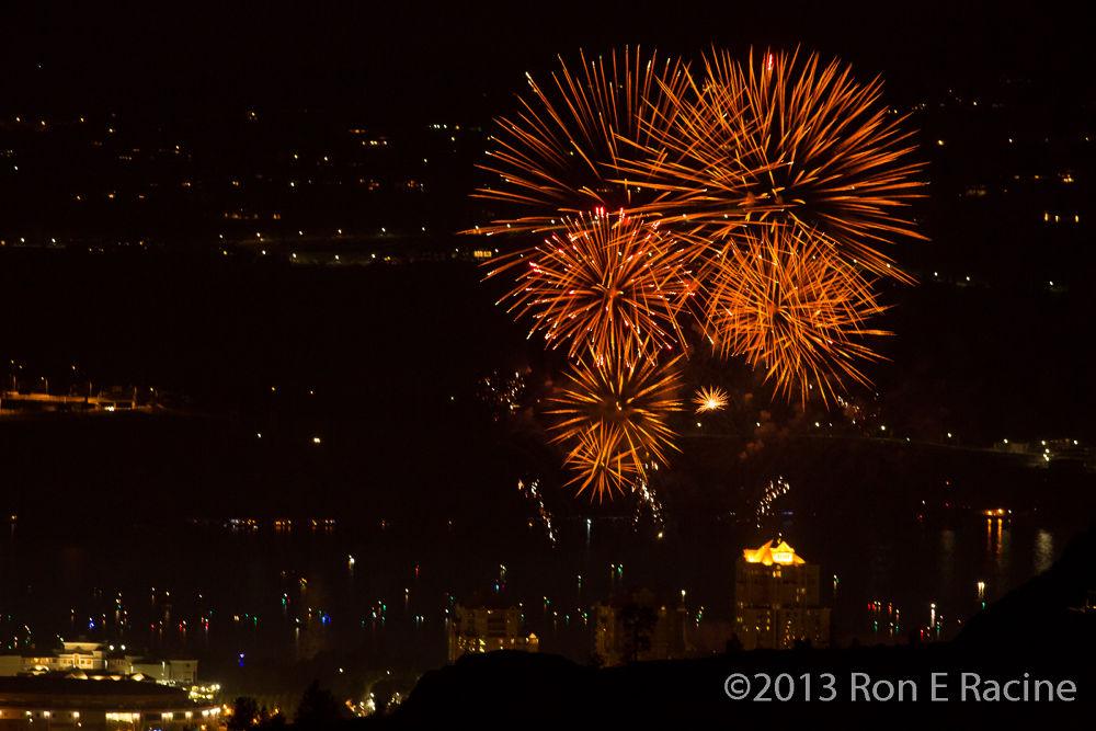 Photo in Random #kelowna #fireworks #canadaday #night #city
