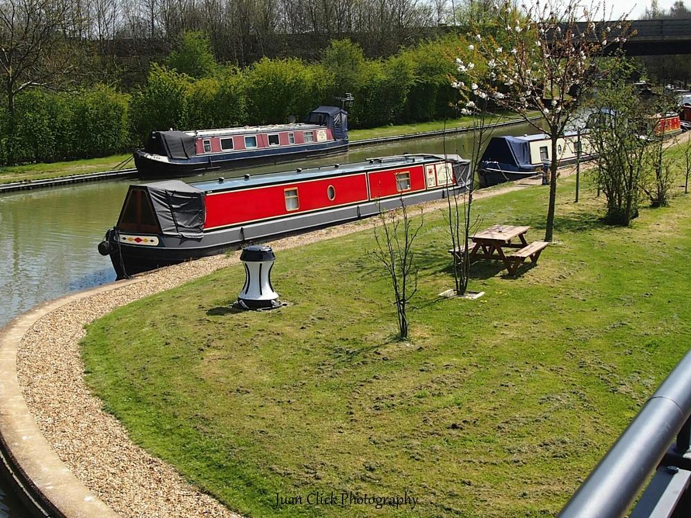 Photo in Travel #canal #boats #marina
