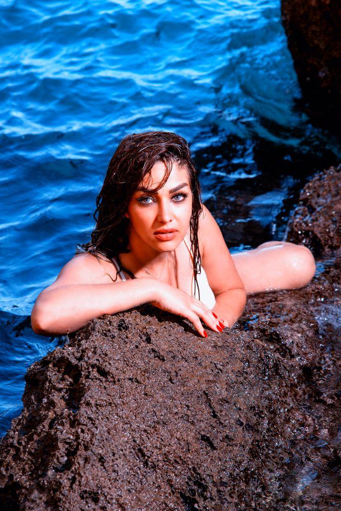 Photo in Portrait #portrait #fashion #beauty #sexy #sensual #fineart #glamour #lingerie #color #bikini #underwear