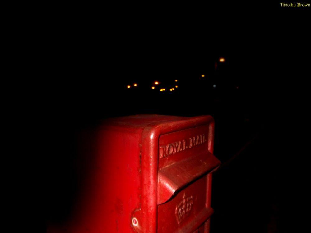 Photo in Random #postbox #night
