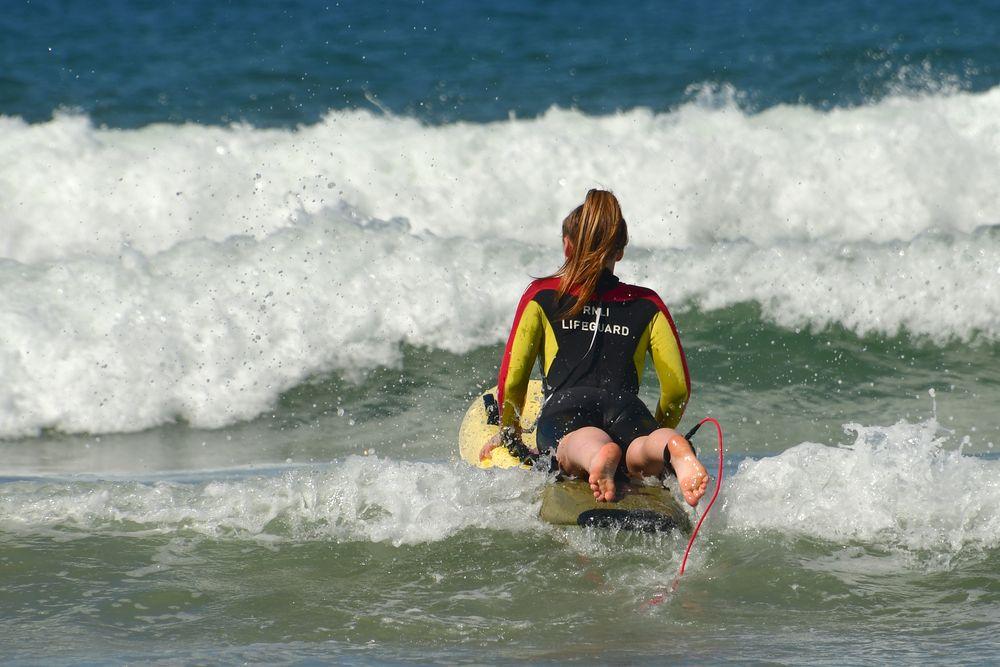 180706 Noord-Ierland - Giants Causeway - Downhill Beach - RNLI Lifeguard 1011