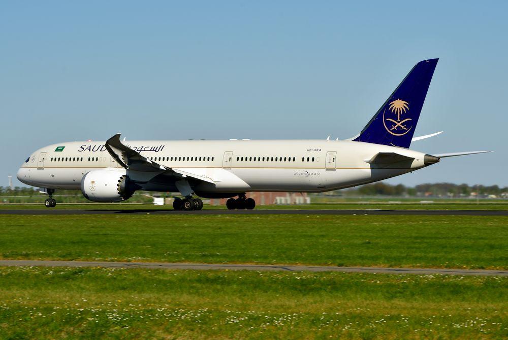 HZ-ARA B787-9 cn 41544 Saudi Arabian Airlines 200419 Schiphol 1004
