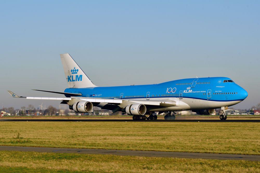 PH-BFT B747-406M cn 28459 KLM (100) 191230 Schiphol 1004