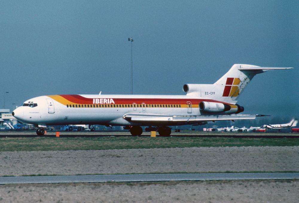 EC-CFF B727-256 cn 20816 Iberia 830500 Schiphol