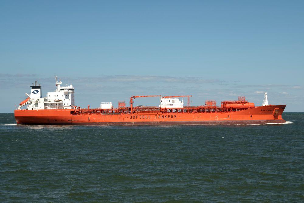 IMO 9047764 Bow Fagus NO 200505 Maasvlakte 1015