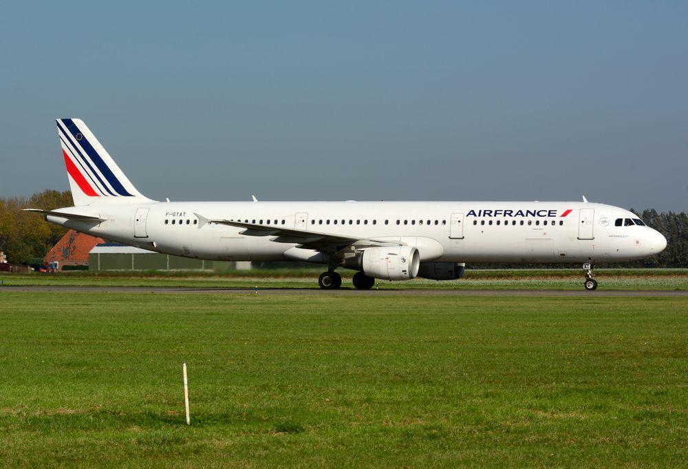 F-GTAT A321-211 cn 3441 Air France 171015 Schiphol 1002