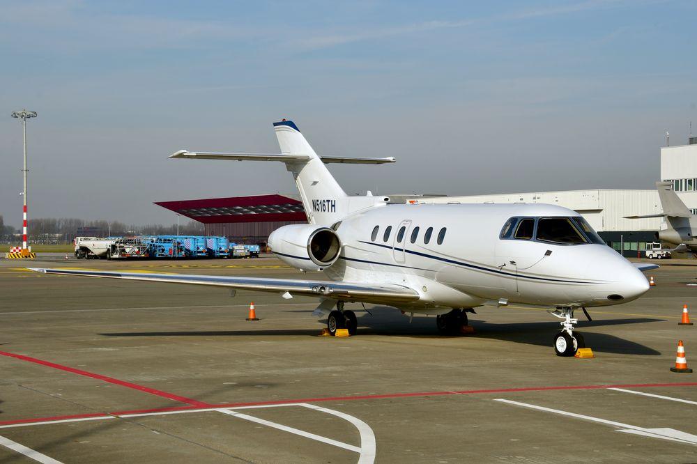 N516TH Hawker 800XP cn 258418 Hippo Air LLC 190216 Schiphol 1001