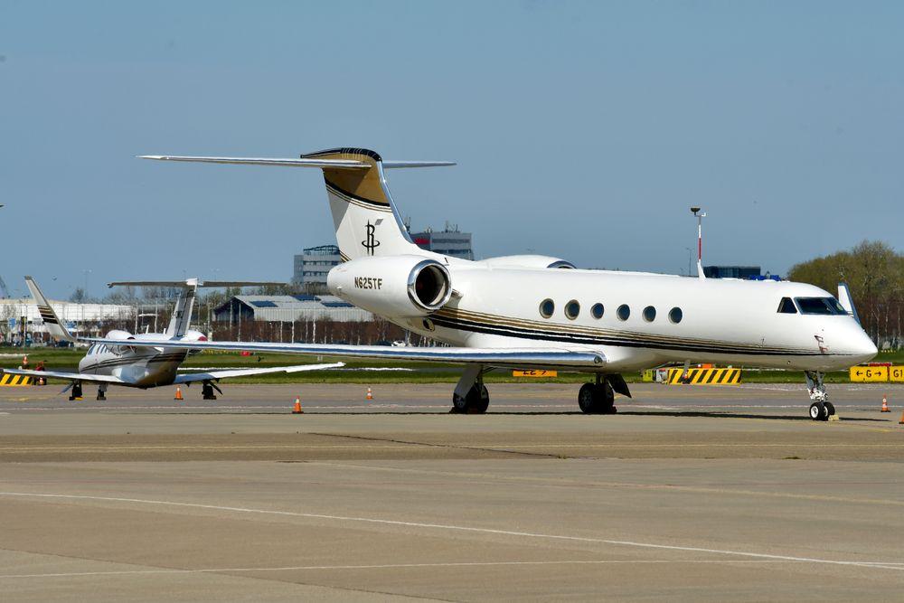 N625TF Gulfstream V cn 547 Fertitta Entertainment LLC 210417 Schiphol 1004