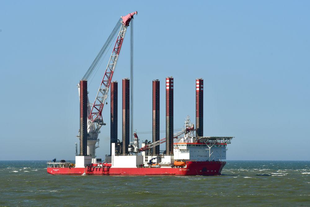Photo in Industrial #mpi adventure #van oord #imo 9530084 #maritime #offshore supply ship #dutch flag #the netherlands #nederland #port of rotterdam #maasvlakte #noordzee #maasmond #industrial #nikon #2021