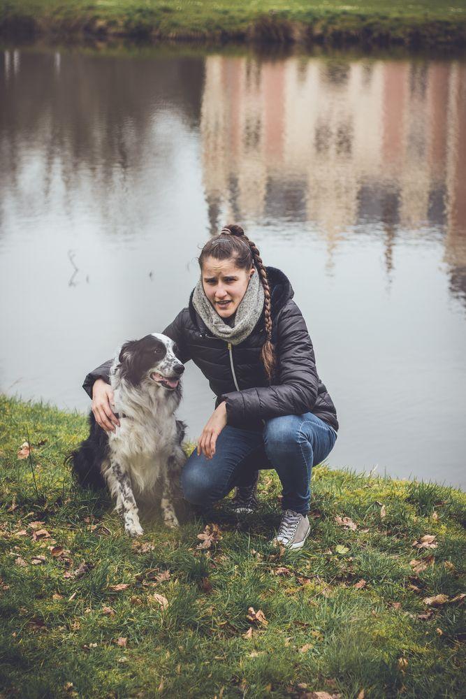 Photo in Portrait #max #bordercollie #female #girl #women #dog #dogs #pet #pets #canon #animal #animals #portrait