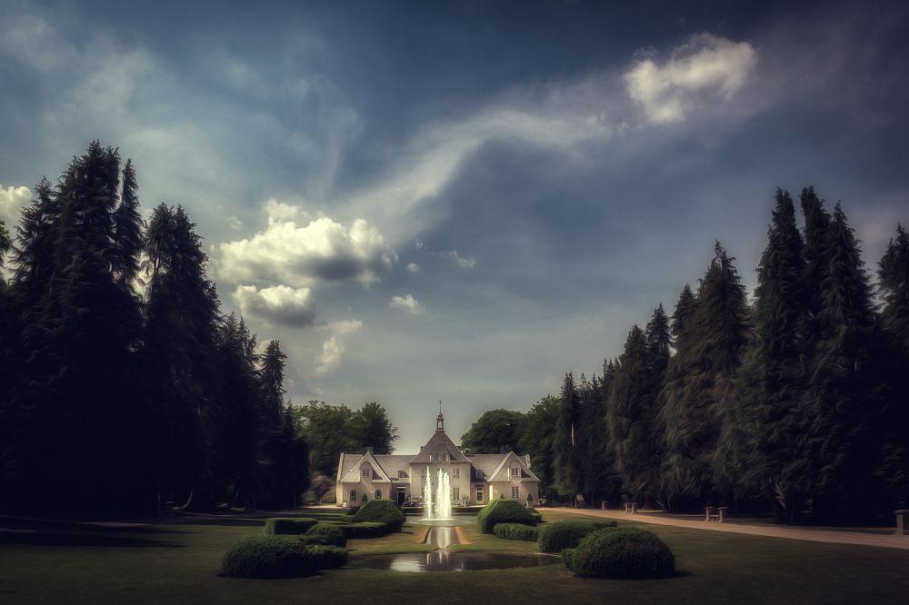 Photo in Fine Art #mirza buljusmic #nature #landscape #cloudscape #clouds #sky #masion #park #garden #scandinavia #sweden #skåne #båstad #norrviken #fine art