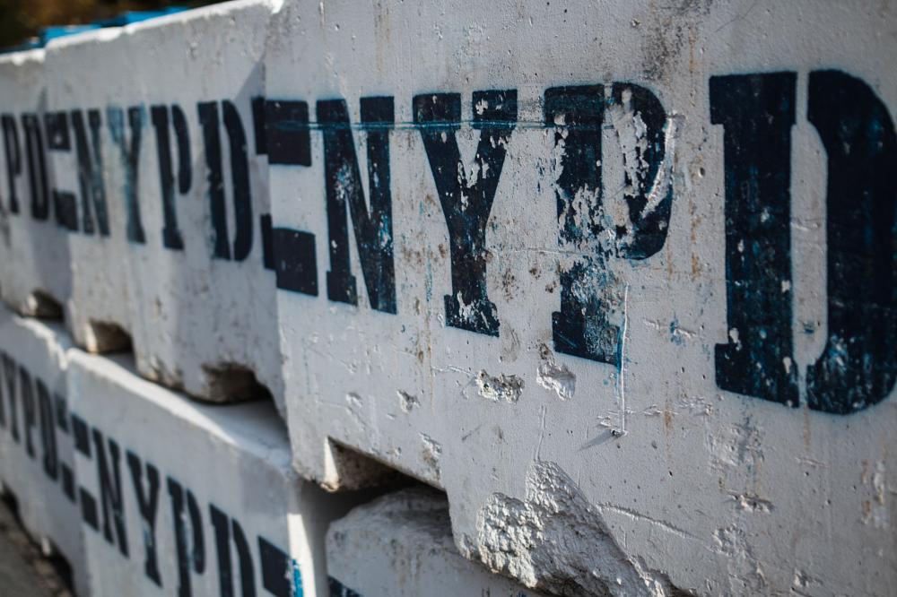 Photo in Street Photography #nypd #nyc #columbus circle #blockade