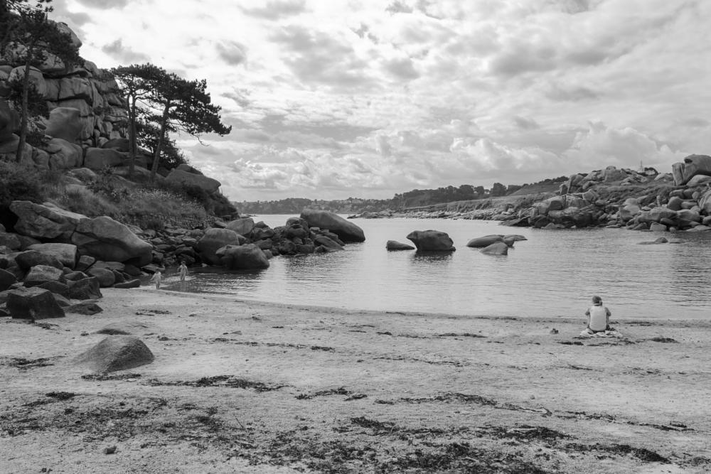 Photo in Sea and Sand #2015 #bretagne #granit rose #landrellec