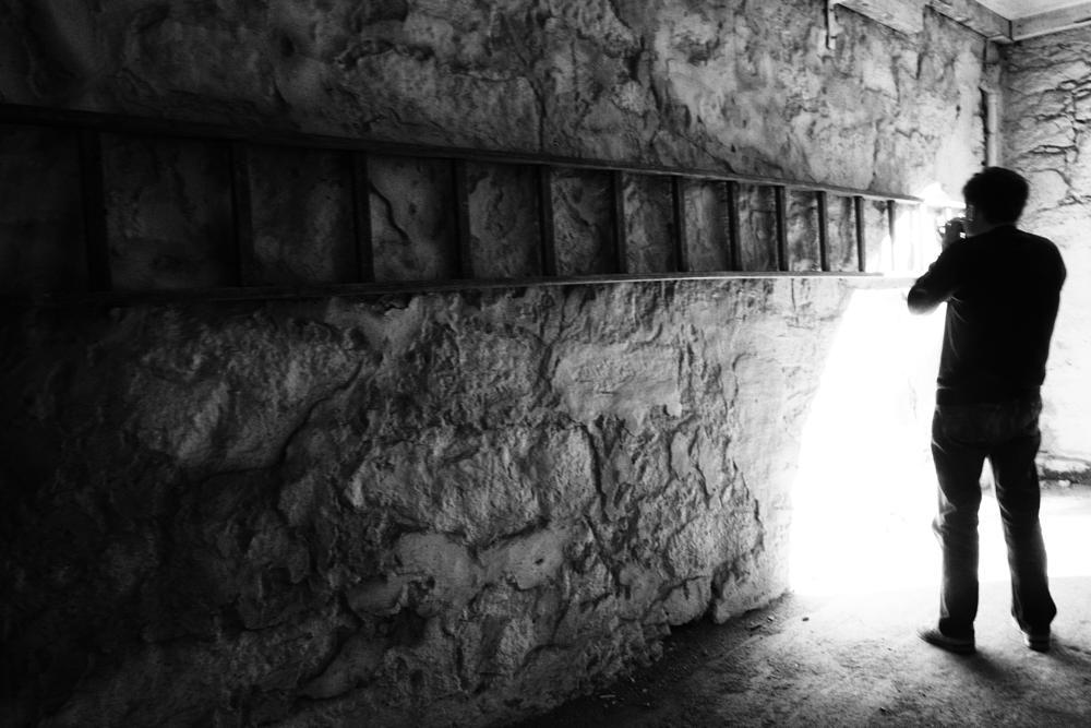 Photo in Black and White #aurora #portugal #b&w #stair