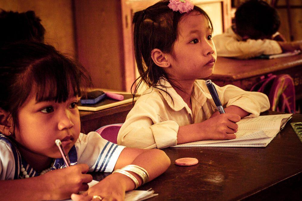 Photo in People #カンボジアの肖像、カンボジア、一年生