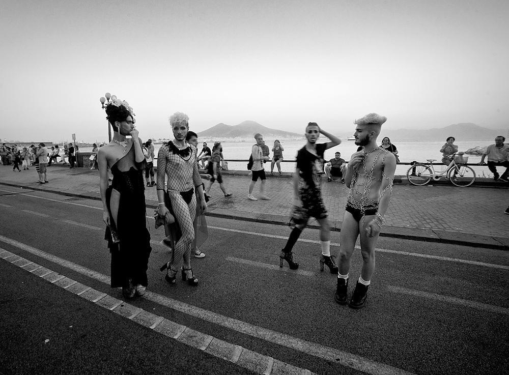 Photo in Street Photography #streetcontest #gaypride #napoli #italy #via caracciolo