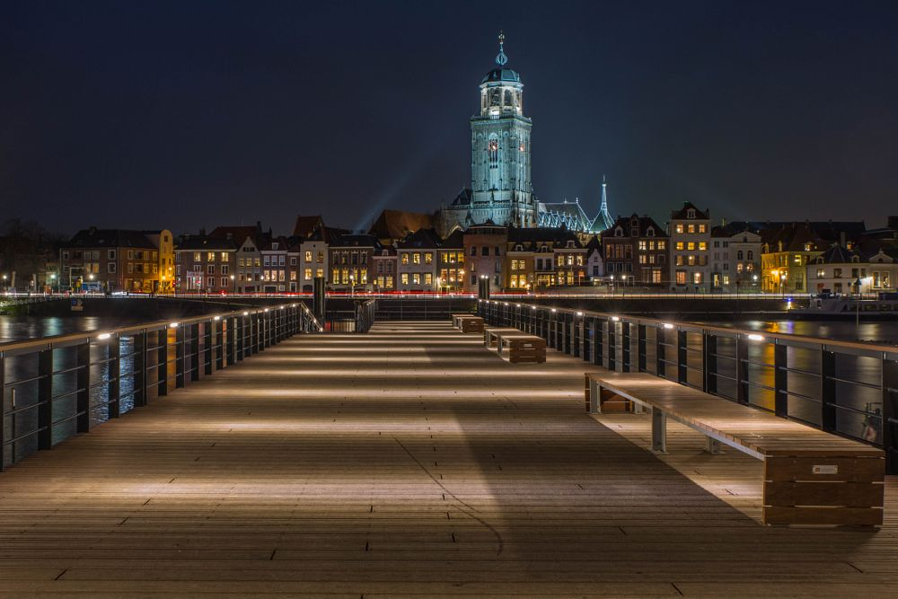 Photo in Cityscape #deventer #ijssel #night