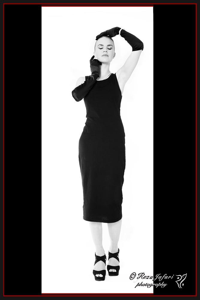 Photo in Fashion #female #woman #portrait #fashion #black&white #b&w