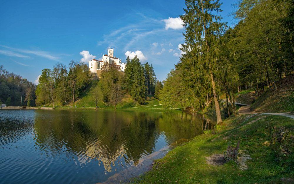 Photo in Landscape #trakošćan #hrvatsko zagorje #hrvatska #croatia #zagorje #lakes #castles #lake & castle #castles & churces #nikon d600 #tamron 17-35/2.8-4