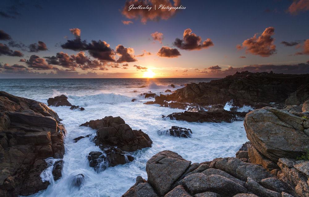 Photo in Landscape #sea #seascape #landscape #sunset
