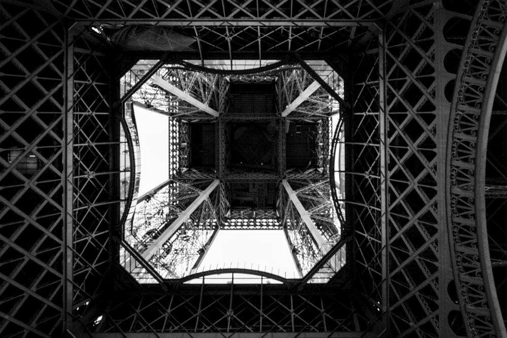Photo in Black and White #paris #2016 #fujix-pro1 #xf18-55r #tour eiffel