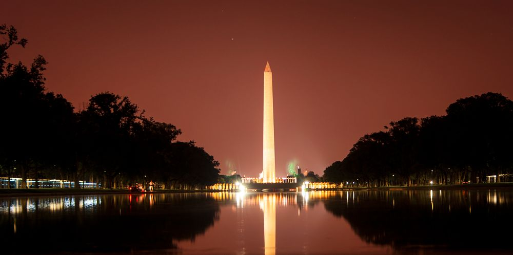Photo in Astrophotography #washington #monument #dc #dc #night #astrophotography
