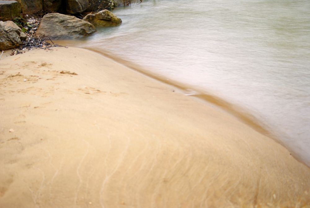 Photo in Landscape #calm #river #sandy #beach #buffalo #camera #dslr #water