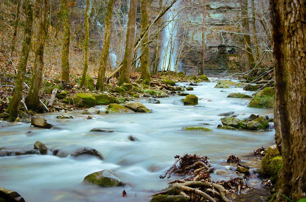 Photo in Landscape #rocky #stream #river #waterfall #water #camera #dslr #arkansas