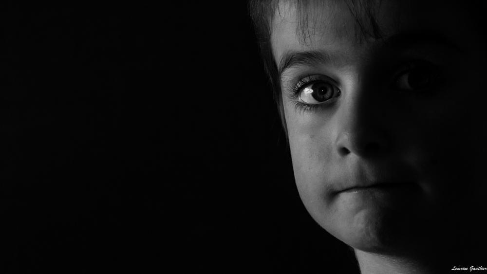 Photo in Black and White #noir et blanc #portrait #filtre