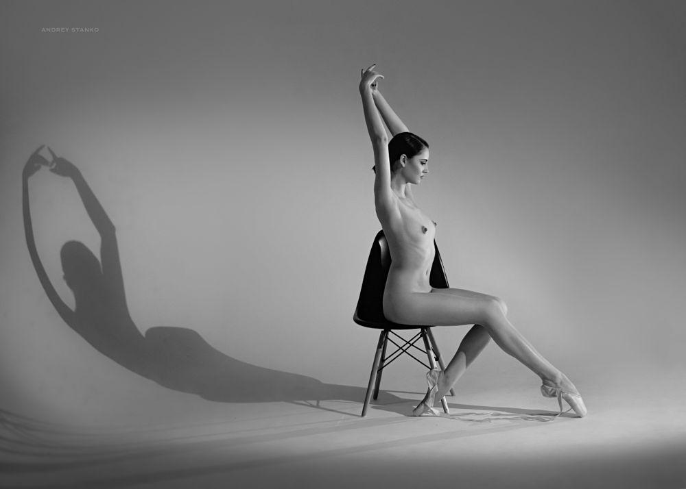 Photo in Nude #andrey stanko #nudeart #nudes #naked #girls #ballerina