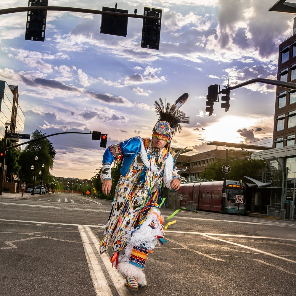 Photo in Portrait #senior photos #native american #pow wow #tempe