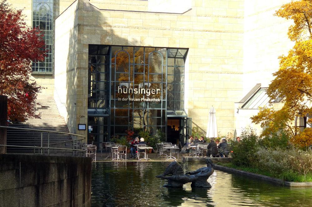 Photo in Architecture #germany #hunsinger in der neuen pinakot #pinakothek #hunsinger #münchen