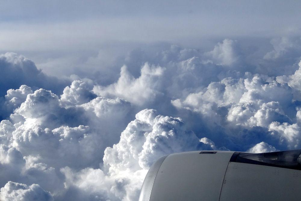 Photo in Random #sky #clouds #china #air #airplane #trip #travel #fly #turbine