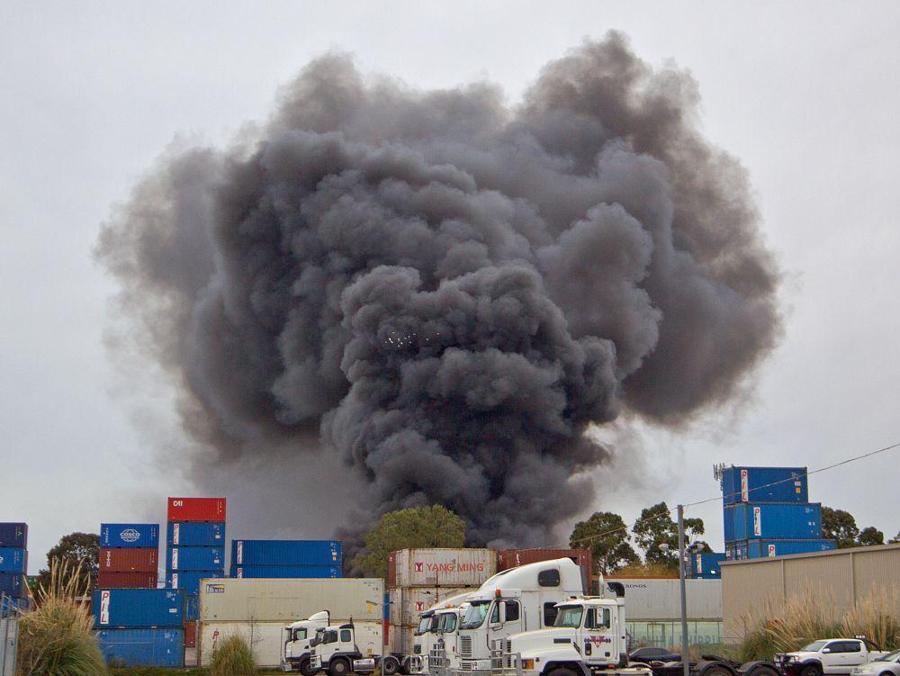 Photo in Random #factory fire