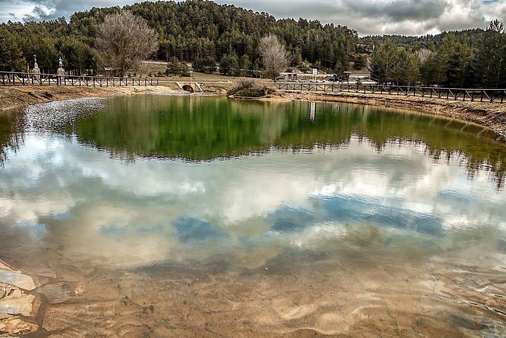 Photo in Travel #water #river #born #birth #tajo #albarracín #teruel #spain #travel #tourism #photo #nikon #tree #landscape