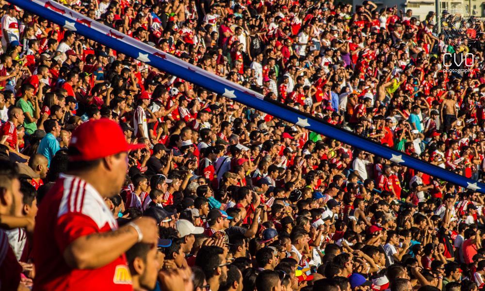 Photo in Sports #caracas #soccer #game #stadium