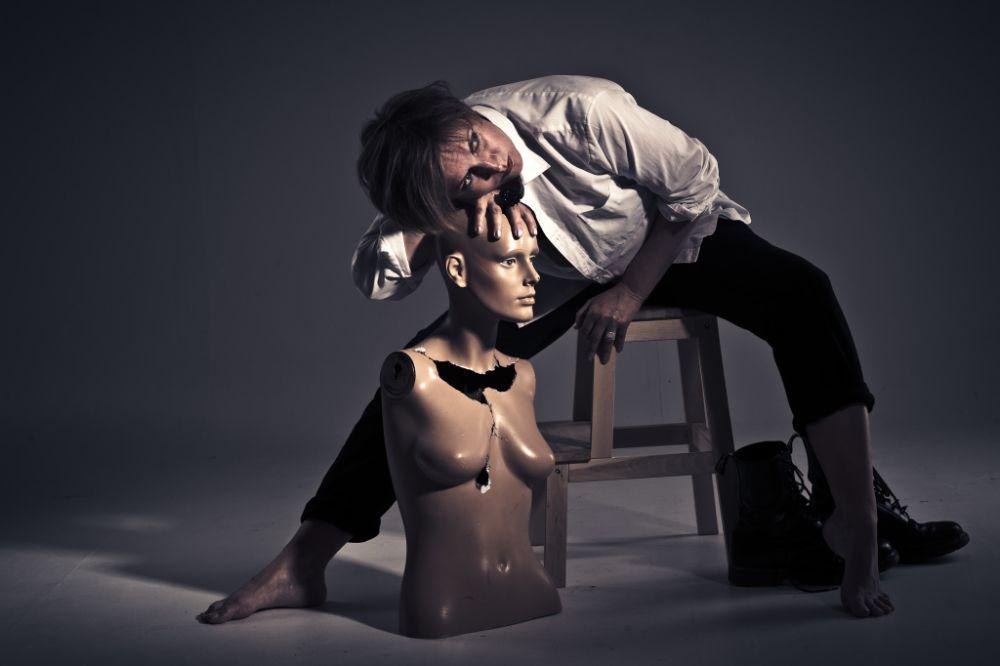 Photo in People #studio #woman #light