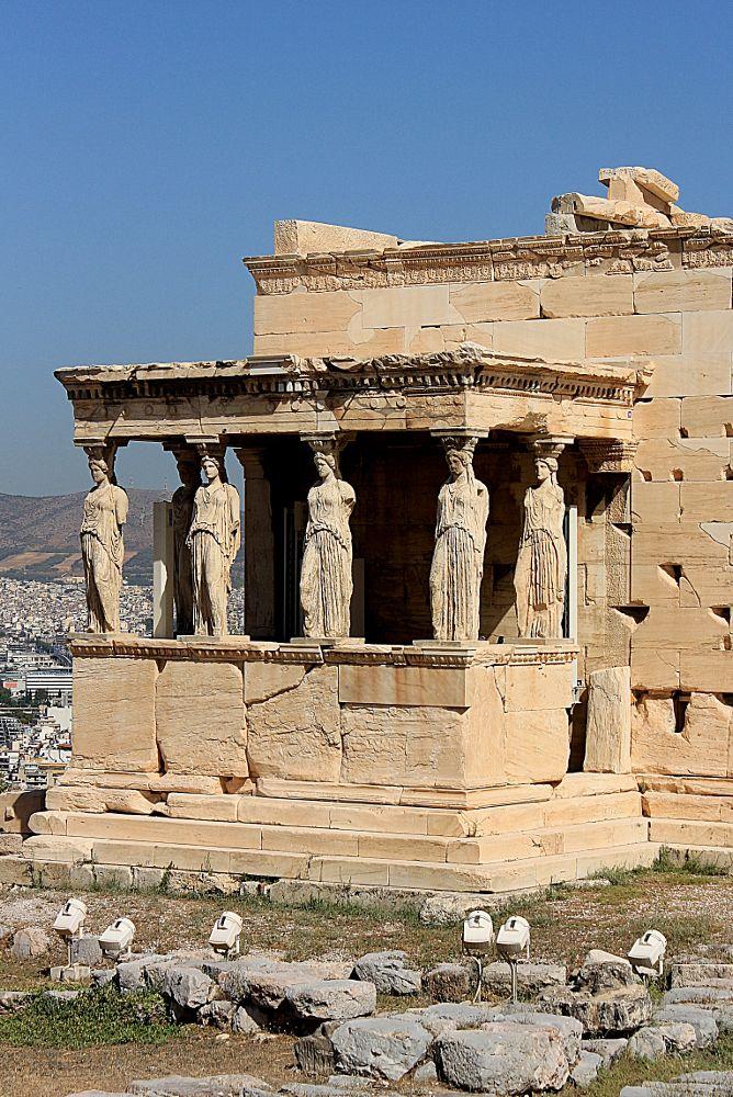 Photo in Architecture #erechteion #akropolis #athens #greece