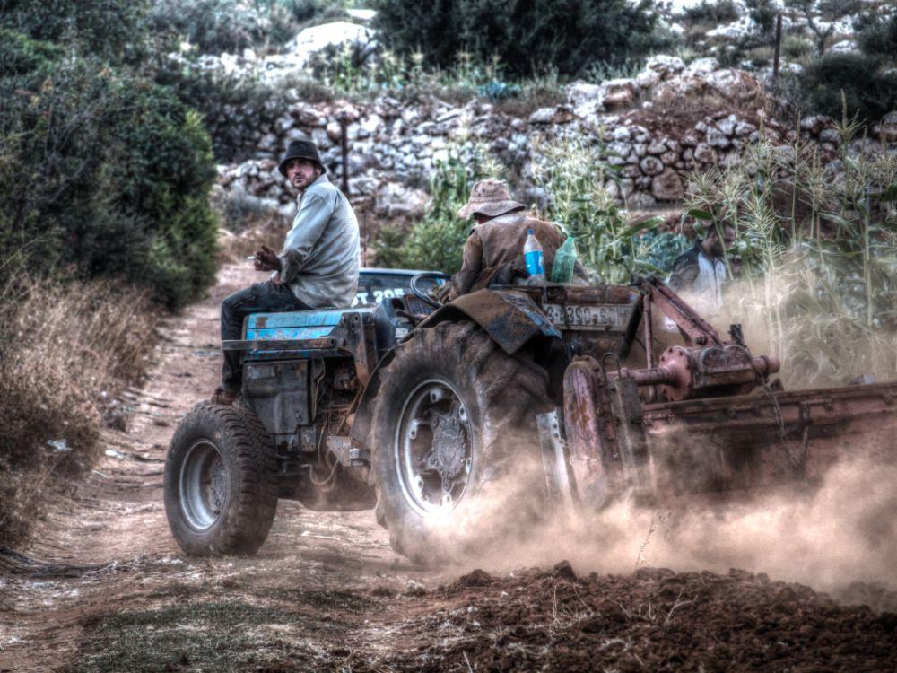 Photo in Nature #nature #harvest #truck #people #hdri