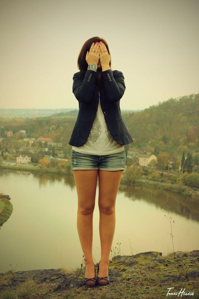 Photo in Portrait #shy #hidden #girl
